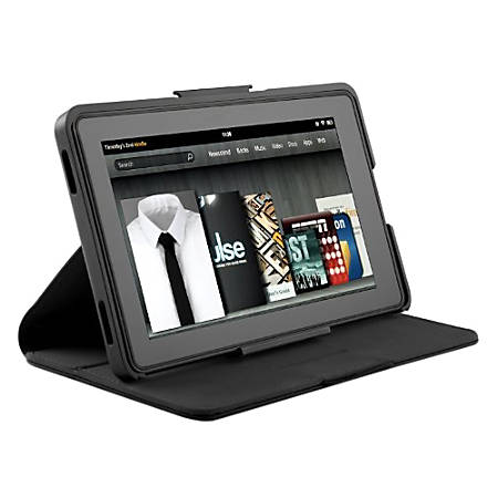 Speck Products FitFolio Case For Kindle Keyboard, Black, S8285332