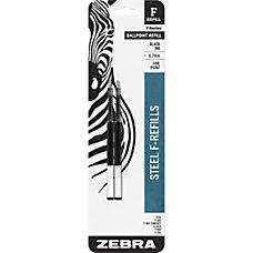 Zebra Ballpoint F Refills For F
