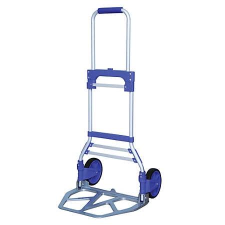 "Global Hardlines® Large Collapsible Handi-Truck, 42 1/2""H x 20 1/2""W, Aluminum"