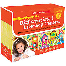 Scholastic Ready To Go Differentiated Literacy