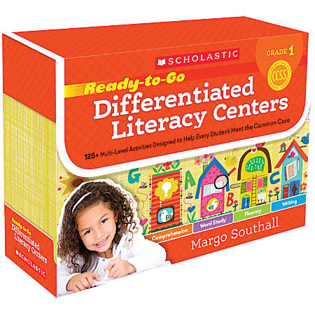 Scholastic Ready-To-Go Differentiated Literacy Centers, Grade 1