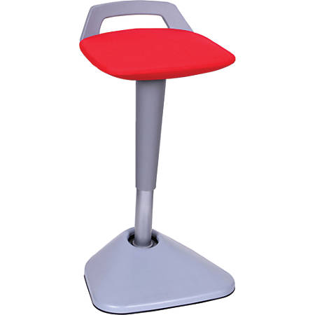 Lorell® Active Seating Pivot Chair, Red