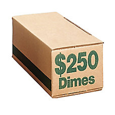 PM Company Coin Boxes Dimes 25000