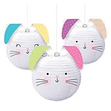 Amscan Easter Hello Bunny Paper Lanterns