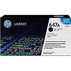 HP 647A Black Original Toner Cartridge