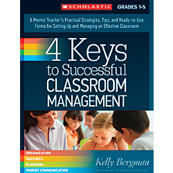 Scholastic 4 Keys To Successful Classroom