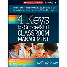 Scholastic 4 Keys To Successful Classroom