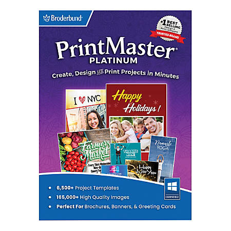 Encore™ PrintMaster Platinum v9, Traditional Disc