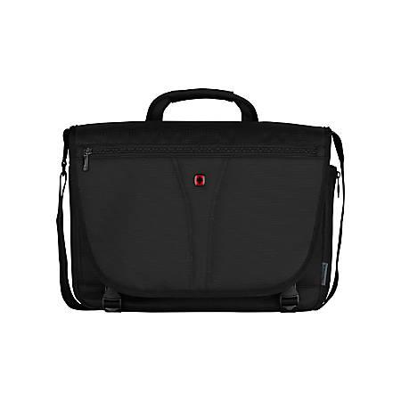 Wenger® Fly Messenger Bag, Black