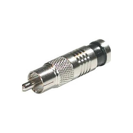 C2G RG6 Compression RCA Connector - 10pk