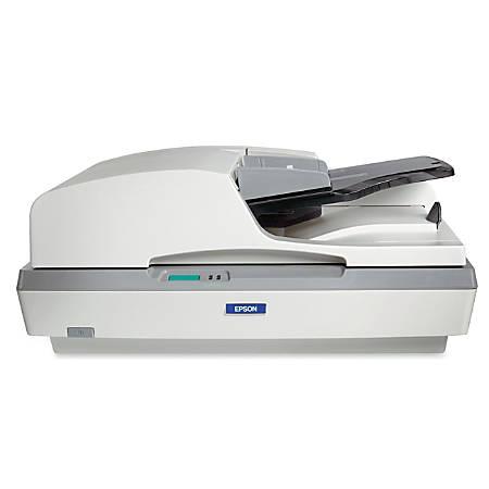 Epson GT-2500 Sheetfed Scanner - 1200 dpi Optical - 48-bit Color - 16-bit Grayscale - 27 ppm (Mono) - 11 ppm (Color) - USB
