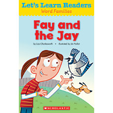 Scholastic Lets Learn Readers Fay And