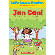 Scholastic Lets Learn Readers Jan Can