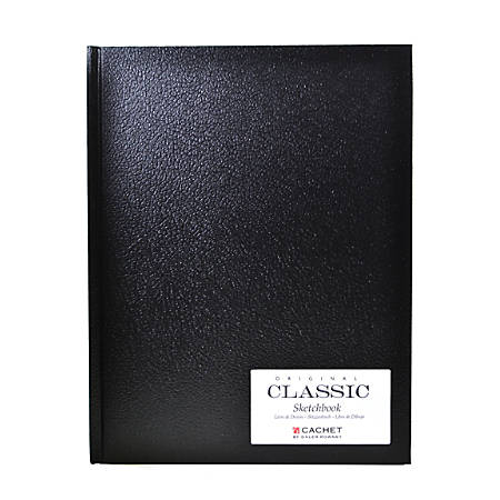 """Cachet Classic Sketchbooks, 8 1/2"""" x 11"""", 110 Pages, Pack Of 2"""