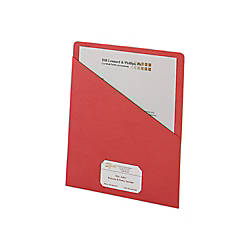 Smead Slash File Jackets Convenience Pack