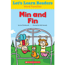 Scholastic Lets Learn Readers Min and