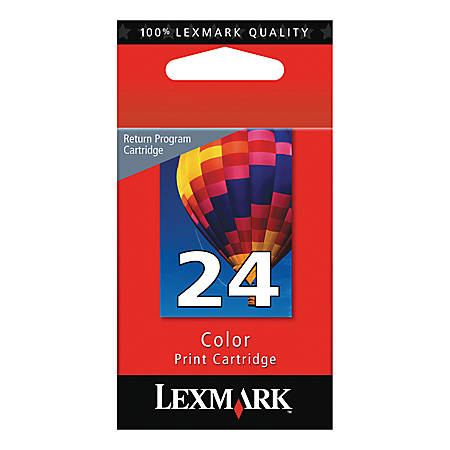 Print Lexmark 24 Color Ink Cartridge