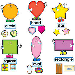 Carson Dellosa Bulletin Board Set Shapes