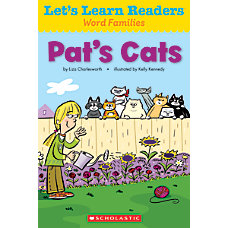 Scholastic Lets Learn Readers Pats Cats