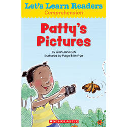 Scholastic Lets Learn Readers Pattys Pictures