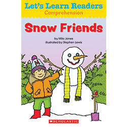 Scholastic Lets Learn Readers Snow Friends