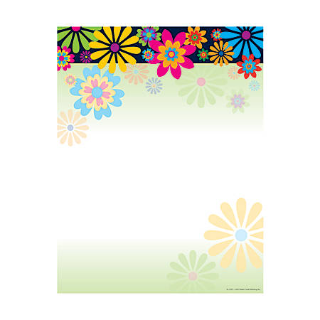 "Barker Creek Computer Paper, 8 1/2"" x 11"", Italy, Pack Of 50 Sheets"