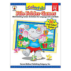 Carson Dellosa Color File Folder Games