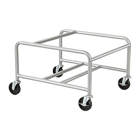 Safco® Veer Chair Cart For Sled-Base Stacking Chairs, Silver