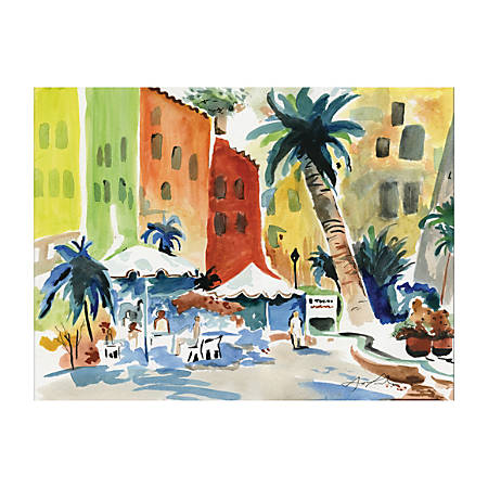 Art1st® Heavyweight Watercolor Paper, 90 Lb, White, Pack Of 50 Sheets