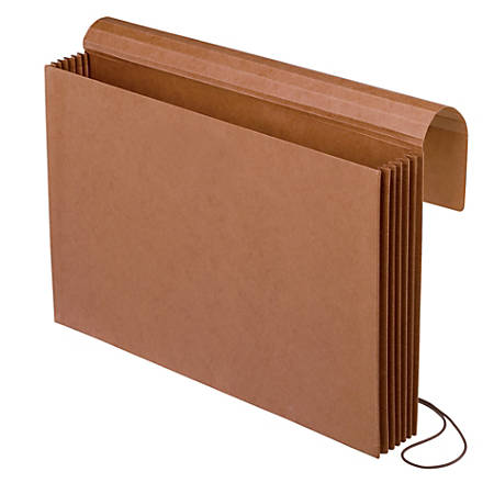 """Pendaflex® Redrope Extra-Wide Expanding Wallet, Letter Size, 5 1/4"""" Expansion"""