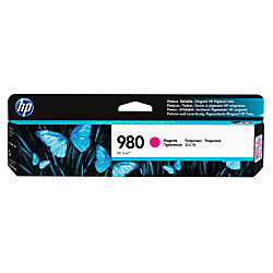 HP 980 D8J08A Magenta Ink Cartridge