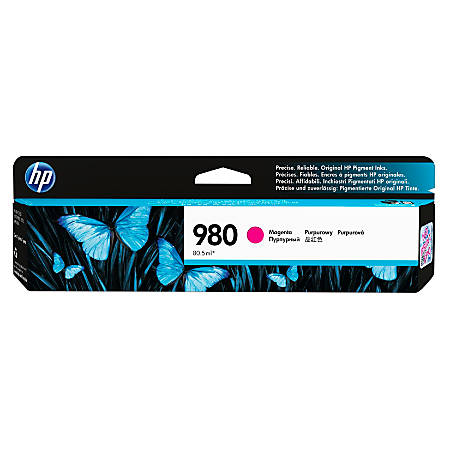 HP 980 (D8J08A) Magenta Ink Cartridge
