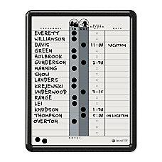 Quartet Classic Gray InOut Board 11