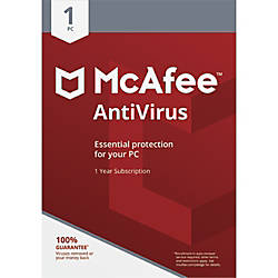 McAfee AntiVirus 1 PC Download Version