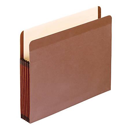"Pendaflex® Redrope Premium Reinforced File Pockets, 5 1/4"" Expansion, Legal Size"