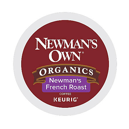 Newman's Own Organic French Roast Coffee K-Cup® Pods, 2 Oz, Pack Of 24