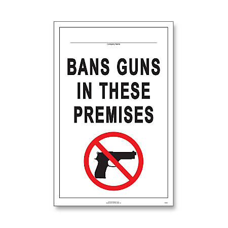 "ComplyRight State Weapons Law Poster, English, Minnesota, 11"" x 17"""