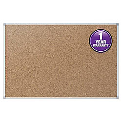 Quartet Economy Corkboard 24 x 36