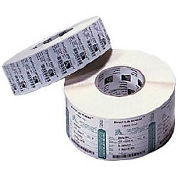 Zebra Label Paper E62762 4 x
