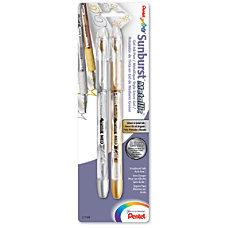 Sunburst Gel Roller Pens Medium Point