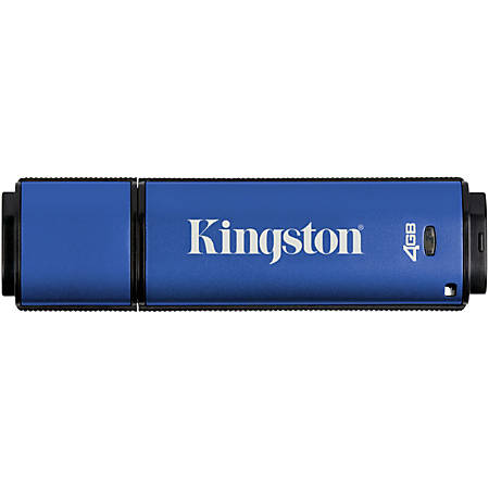 Kingston DataTraveler Vault Privacy Anti-Virus USB 3.0 Flash Drive, 4GB