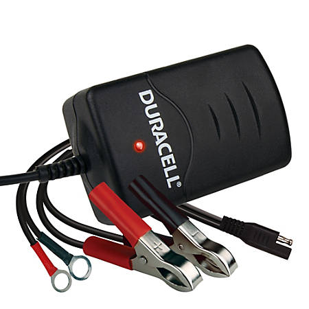 Duracell® 1-Amp Vehicle Battery Charger, DRBM1A