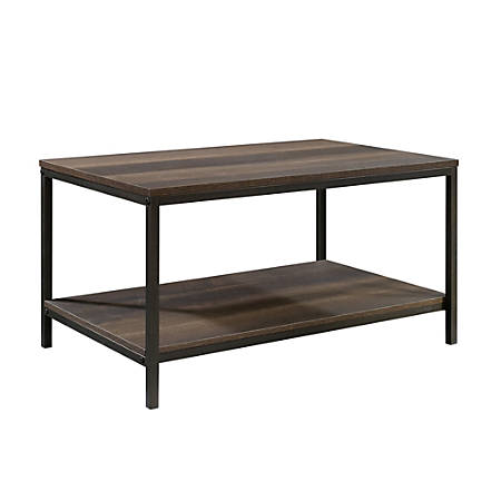 Sauder® North Avenue Coffee Table, Rectangular, Smoked Oak