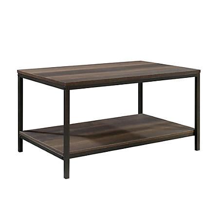 Sauder® North Avenue Coffee Table, Rectangular, Smoked Oak Item # 4905402