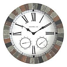 FirsTime Co Garden Stone Outdoor Clock