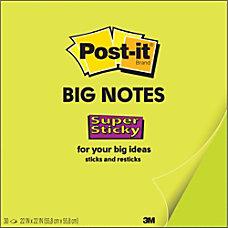 Post it Super Sticky Big Notes