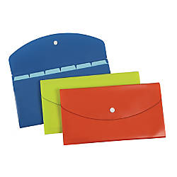 Pendaflex Slimline 7 Pocket File Check