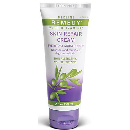 Remedy® Olivamine Skin Repair Cream, 2 Oz, Case Of 24