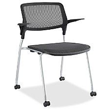 Lorell Fixed Arms Stackable Guest Chairs