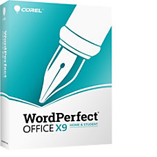 Corel WordPerfect Office X9 Home Student
